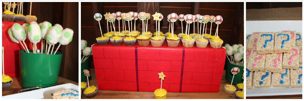 A Super Mario Bros Reveal Party Happiness In Progress With